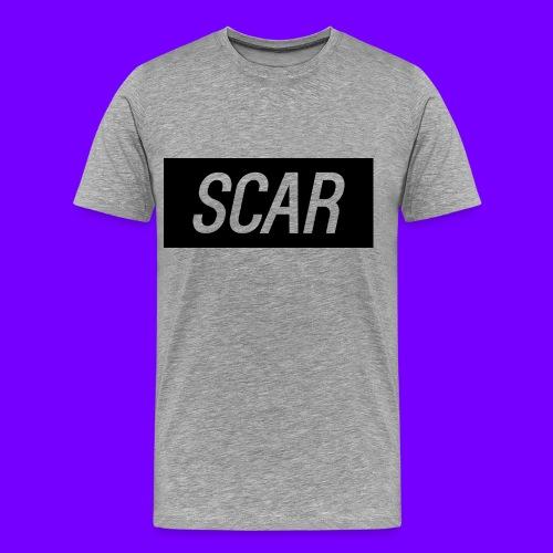 Scar - Gray - Men's Premium T-Shirt