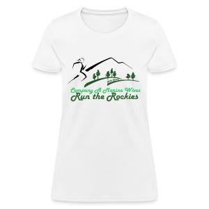 Regular Cotton Tee - Green Logo - Women's T-Shirt