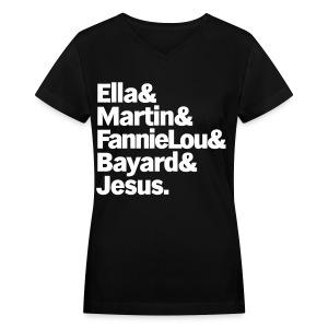 Trailblazers - Women's V-Neck T-Shirt