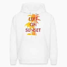 Left on Sunset Hoodies