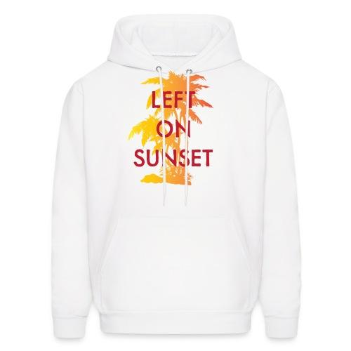 Left on Sunset Hoodies - Men's Hoodie
