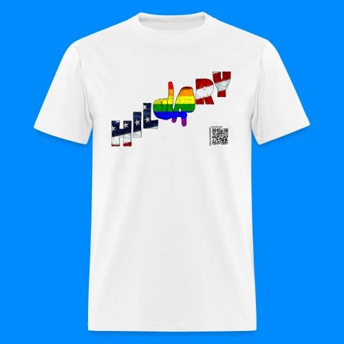 LGBT for Hillary Pride TEE  - Men's T-Shirt