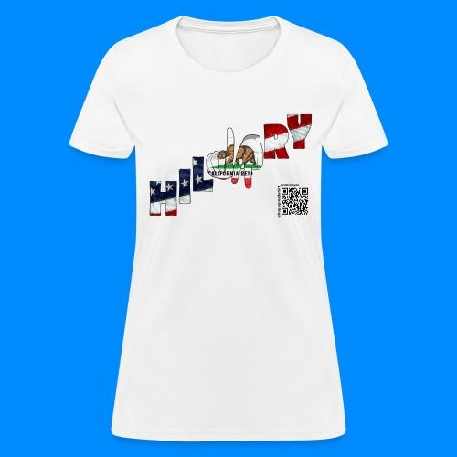 California Flag Hillary Tee - Women's T-Shirt
