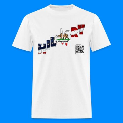 California Flag Hillary Tee (men) - Men's T-Shirt