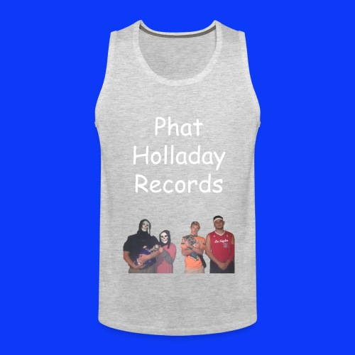 Phat Holladay Records Tank Top (White Font) - Men's Premium Tank