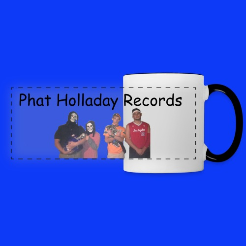 Phat Holladay Records Mug  - Panoramic Mug