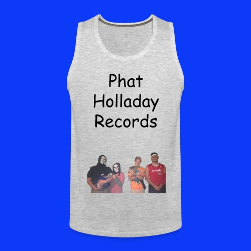 Phat Holladay Records Tank Top (Black Font) - Men's Premium Tank