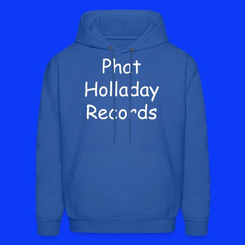 Phat Holladay Records Hoodie (White Font) - Men's Hoodie
