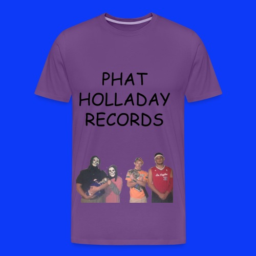 Phat Holladay Records Mens Tee - Men's Premium T-Shirt