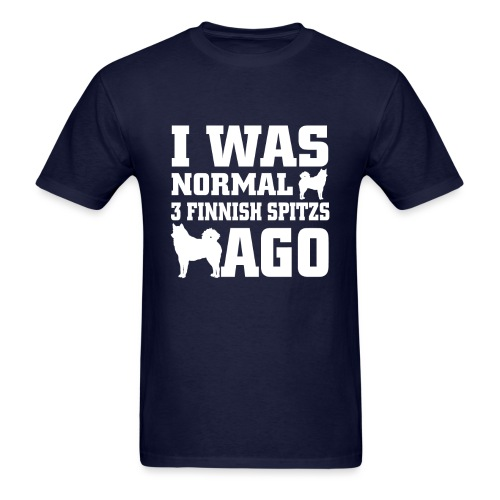 Men's Gildan T-Shirt I was normal 3 FS ago - Men's T-Shirt