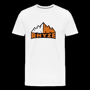 Rhyze Mountain Tshirt - Men's Premium T-Shirt