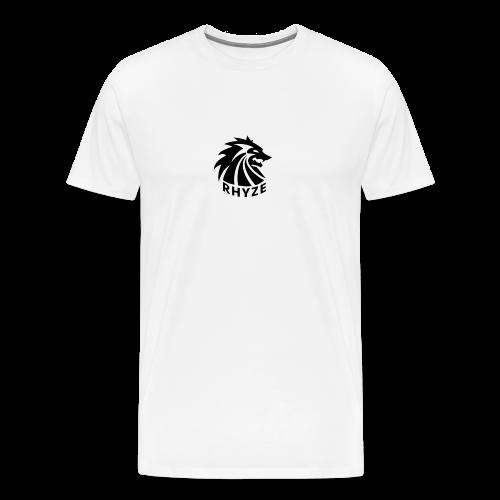 Rhyze Wolf Tshirt - Men's Premium T-Shirt