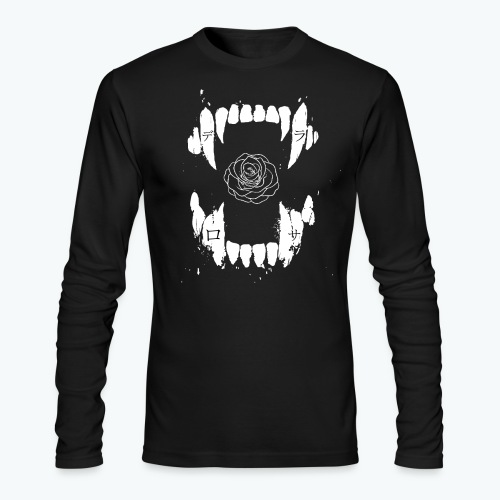 Fangs and Roses Long sleeve - Men's Long Sleeve T-Shirt by Next Level