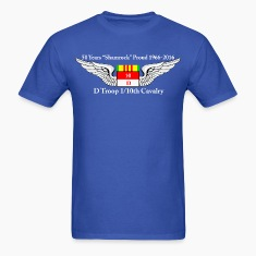 D Troop 50th Anniversary Standard T-Shirt BLUE