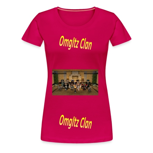 OmgItzClan Womens Tshirt - Women's Premium T-Shirt