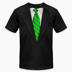 Realistic Suit and Tie Gr T-Shirts