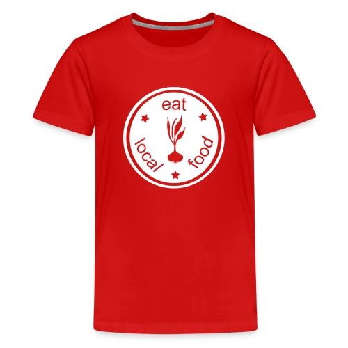 Kid's Eat Local Food Scapes T-Shirt - Kids' Premium T-Shirt