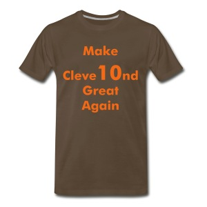 Make Cleve10nd Great Gain - Men's Premium T-Shirt