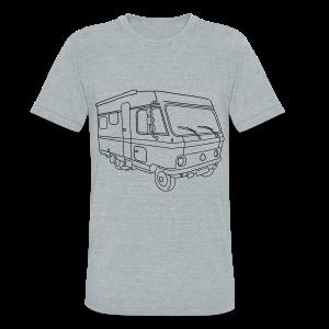 Caravan (mobile home) - Unisex Tri-Blend T-Shirt