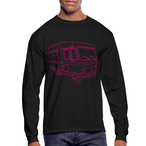 Caravan (mobile home) - Men's Long Sleeve T-Shirt