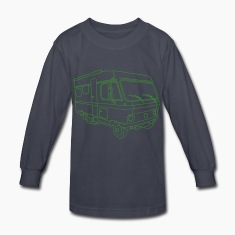 Caravan (mobile home) Kids' Shirts