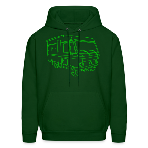 Caravan (mobile home) - Men's Hoodie