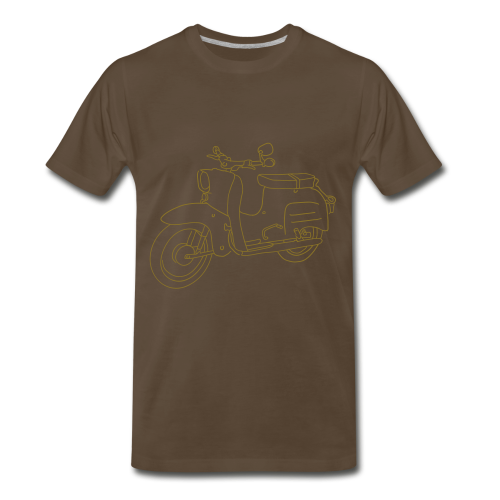 Scooter Swallow - Men's Premium T-Shirt