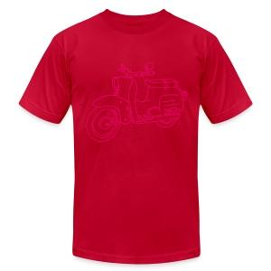 Scooter Swallow - Men's Fine Jersey T-Shirt