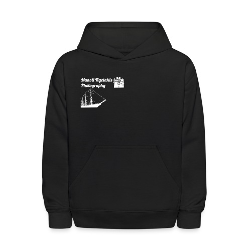 Manoli Figetakis Photography Offical Hoodie (KIDS) - Kids' Hoodie