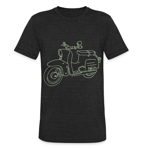 Scooter Swallow - Unisex Tri-Blend T-Shirt
