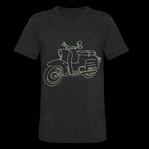 Scooter Swallow - Unisex Tri-Blend T-Shirt