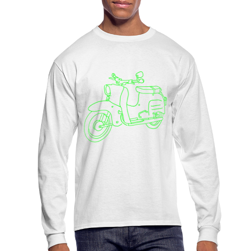Scooter Swallow - Men's Long Sleeve T-Shirt
