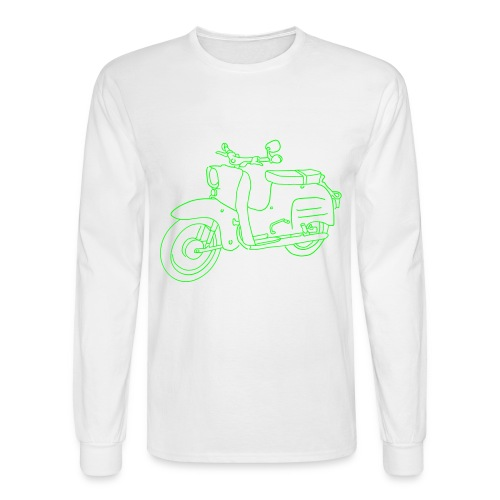 Scooter Swallow - Men's Long Sleeve T-Shirt