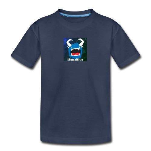 Kid's Premium iBuzzBlue Logo T-Shirt - Kids' Premium T-Shirt