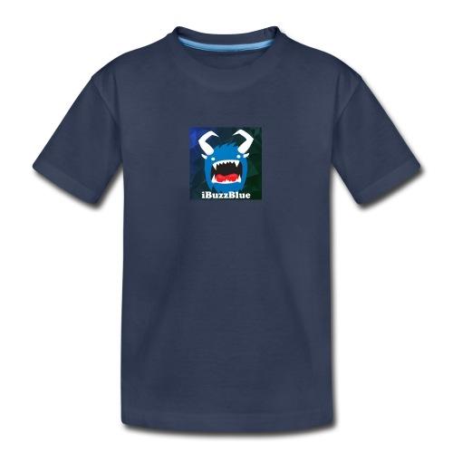 Toddler Premium iBuzzBlue Logo T-Shirt - Toddler Premium T-Shirt