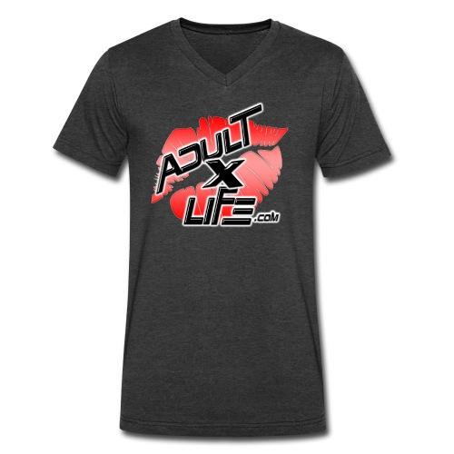T-shirt avec encolure en V pour hommes