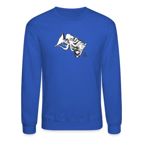 Limited Edition Grappling Octopus   - Crewneck Sweatshirt