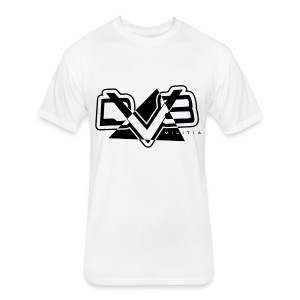 DV8 Militia White T-Shirt - Fitted Cotton/Poly T-Shirt by Next Level