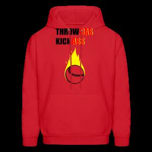 Throw Gas Men's Hoodie - Men's Hoodie
