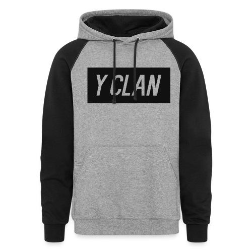 Official Y Clan Sweatshirt - Colorblock Hoodie