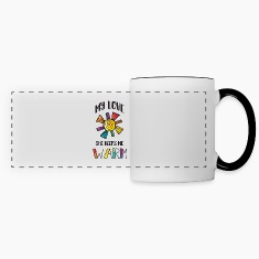 My Love She Keeps Me Warm LGBT Mugs & Drinkware
