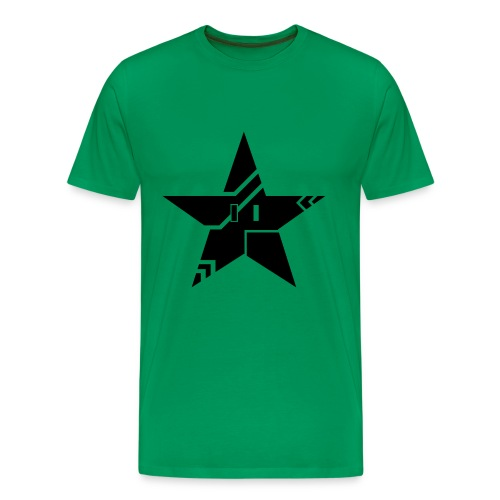 Tribal Tech Star (Men's Premium) - Men's Premium T-Shirt