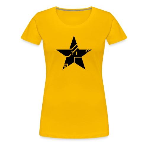 Tribal Tech Star (Women's Premium) - Women's Premium T-Shirt
