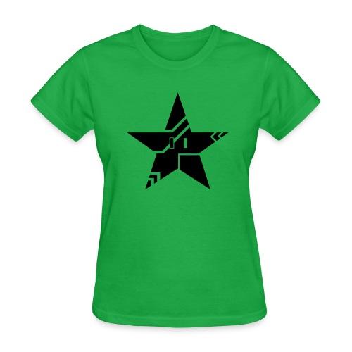 Tribal Tech Star (Women's Basic) - Women's T-Shirt