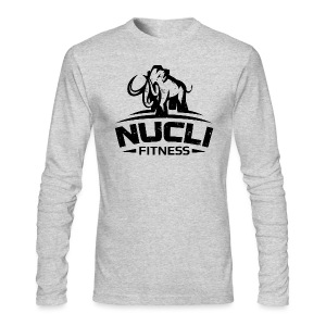 Men Front Full Logo - Men's Long Sleeve T-Shirt by Next Level