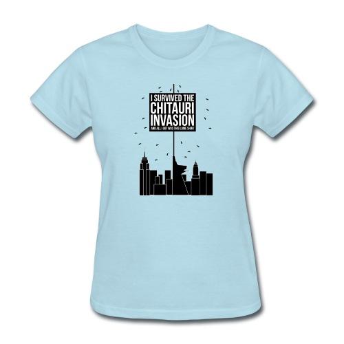 I Survived The Chitauri Invasion.. - Women's T-Shirt