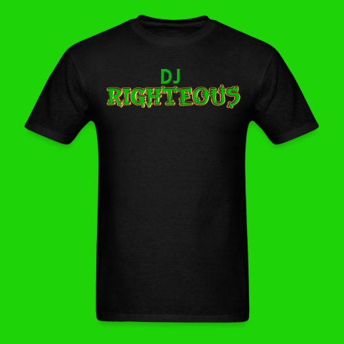 Men's T-Shirt - Logo of world famous DJ Righteous