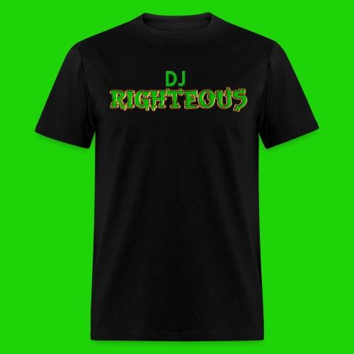 Men's T-Shirt - Logo of world famous DJ Righteous