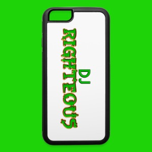 iPhone 6/6s Rubber Case - Logo of world famous DJ Righteous