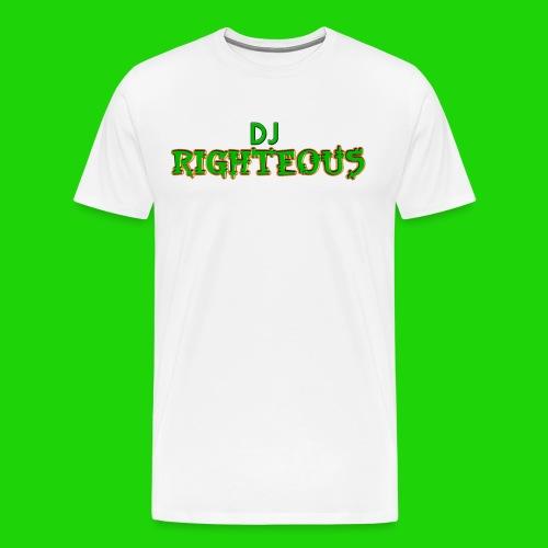 Men's Premium T-Shirt - Logo of world famous DJ Righteous